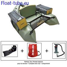 Float tube jmc expédition complet avec sac