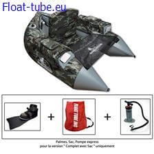 Float tube jmc trium camouflage complet