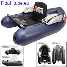 Float tube seven bass brigad 160