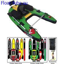 Float tube jungle operator seven bass