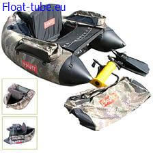Pack float tube hart camo vi-defender