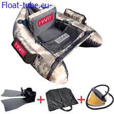Pack float tube hart camo vi-one